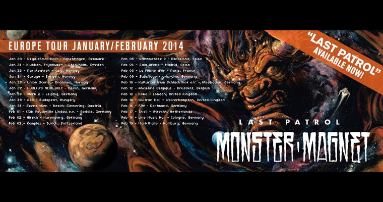 MONSTER MAGNET in Nürnberg