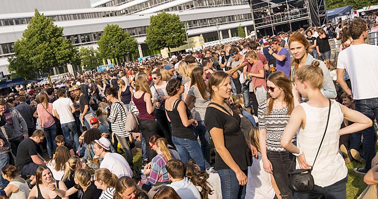 CAMPUS FESTIVAL 2015 in Bielefeld