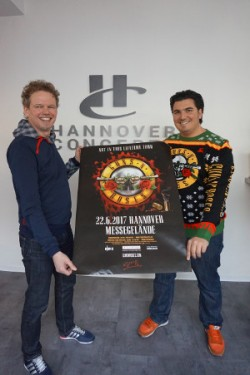 Guns Nroses Am 22 Juni 2017 Auf Dem Messegelände Hannover