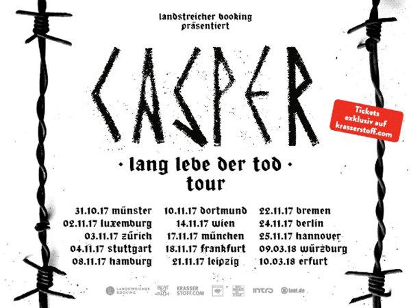 CASPER Tourdaten
